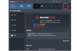 高清录屏软件 Bandicam 5.0.0.1796 VIP(班迪录屏)绿色免安装版本