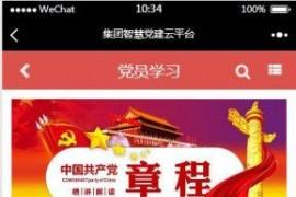 智慧党建云平台2.4.5全开源(星狼已测试)