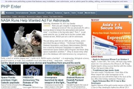 PHP Enter国外老牌新闻文章 v5.2系统