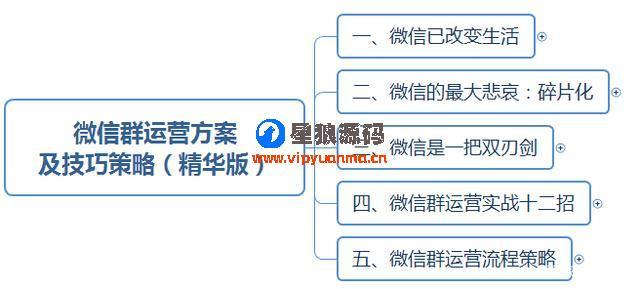 微信群运营图表运营方案及技巧策略(精华版) 第1张