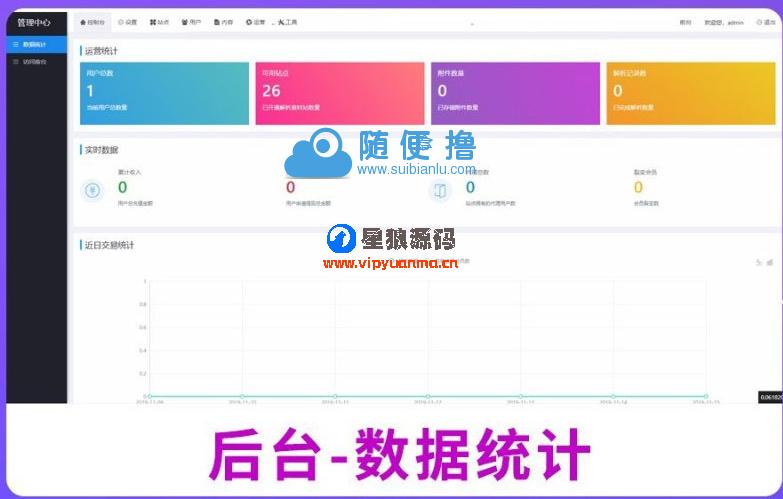 素材解析网站源码PHP素材资源解析平台源码V8.0 第4张